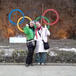Олимпийские кольца в Роза Хутор