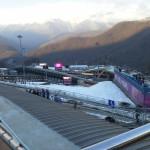 Трасса Олимпийского Центра санного спорта