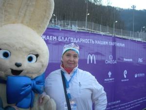 """Мы приехали на Олимпийские соревнования """"Сани"""""""