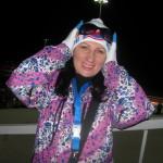 Виктория (Сочи) в Центре санного спорта во время Олимпиады в Сочи 2014