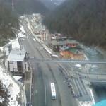"""Мост для прохода к канатной дороге для подъёма на соревнования """"Горные лыжи"""""""